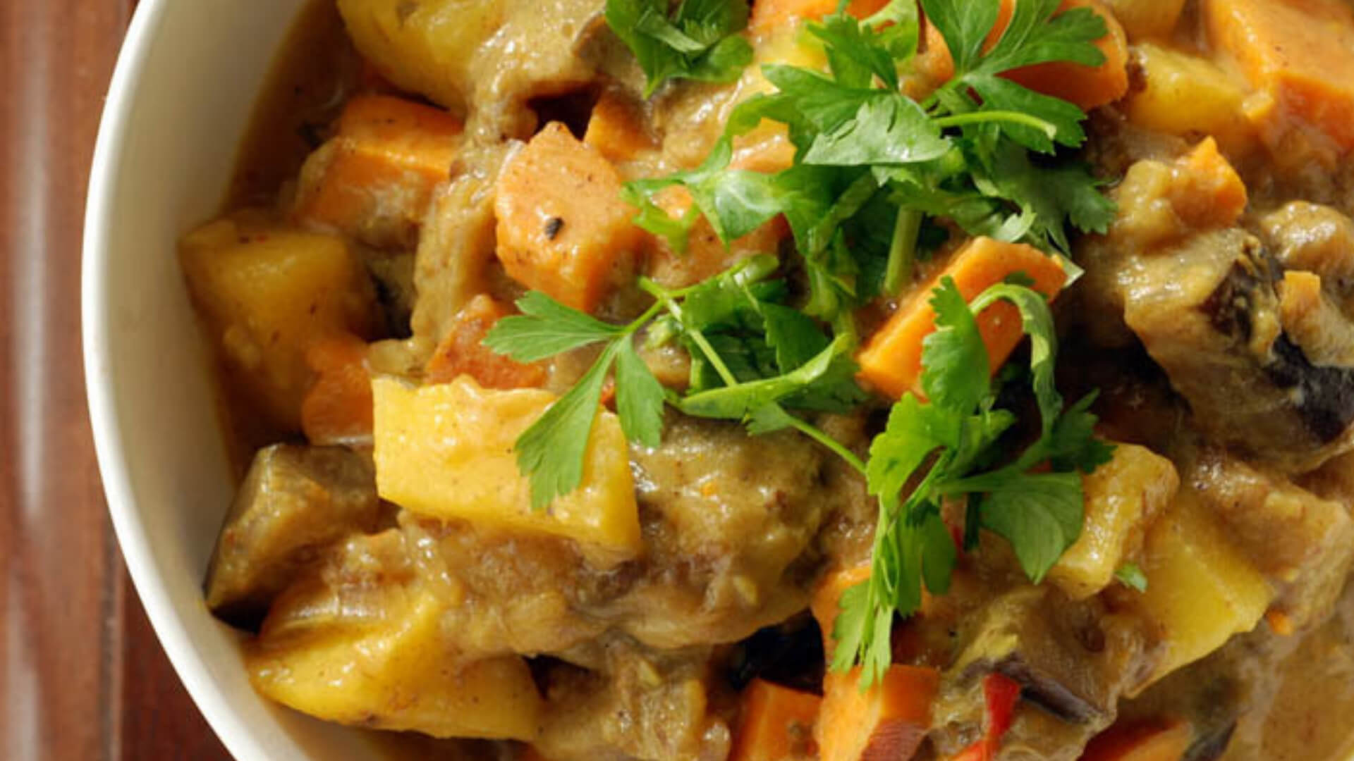 Winter Vegetable Beef Curry