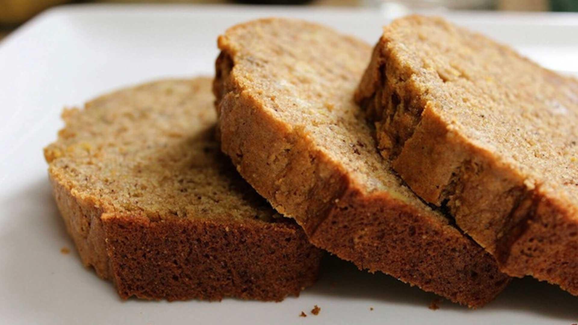 Plantain Spice Bread, Grain, Egg, and Nut-free