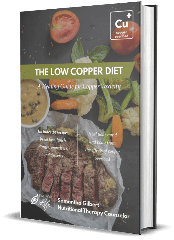 The Low Copper Diet Cookbook A Healing Guide for Copper Toxicity