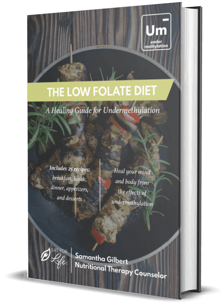 The Low Folate Diet Cookbook A Healing Guide for Undermethylation